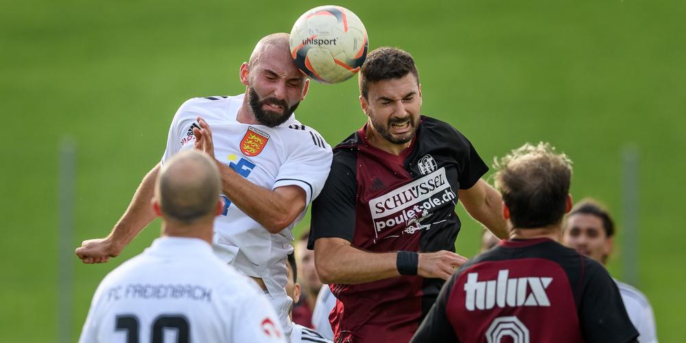 Die beiden Mannschaften schenkten sich nichts. Im Bild Jose Meier und Aleksander Radovic.