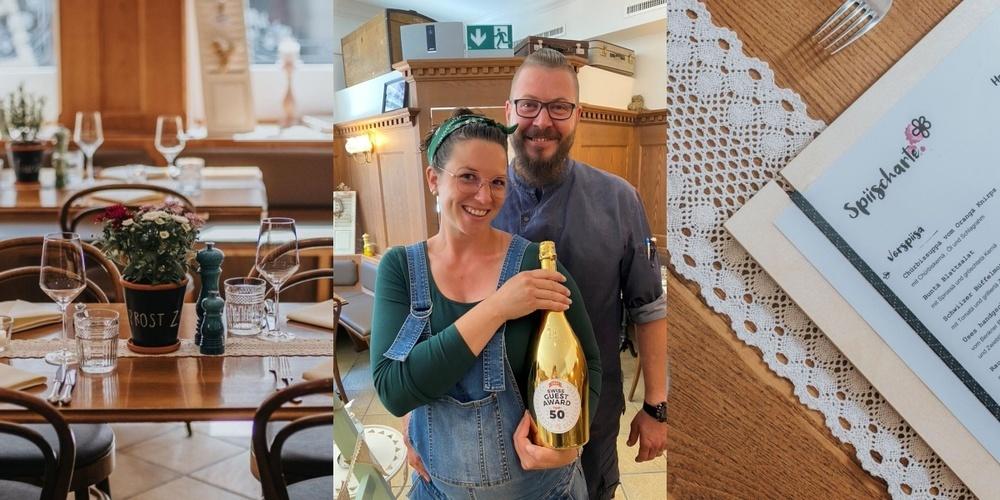 Caro und Michi Rohrer erhielten mit ihrer «Bluemä» die maximale Bewertung von 5.0 – eine solche Bewertung gab es bisher noch nie beim Swiss Guest Award.