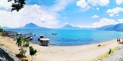 In San Marco am Atitlan-See fanden die Abenteurer ein kleines Paradies.