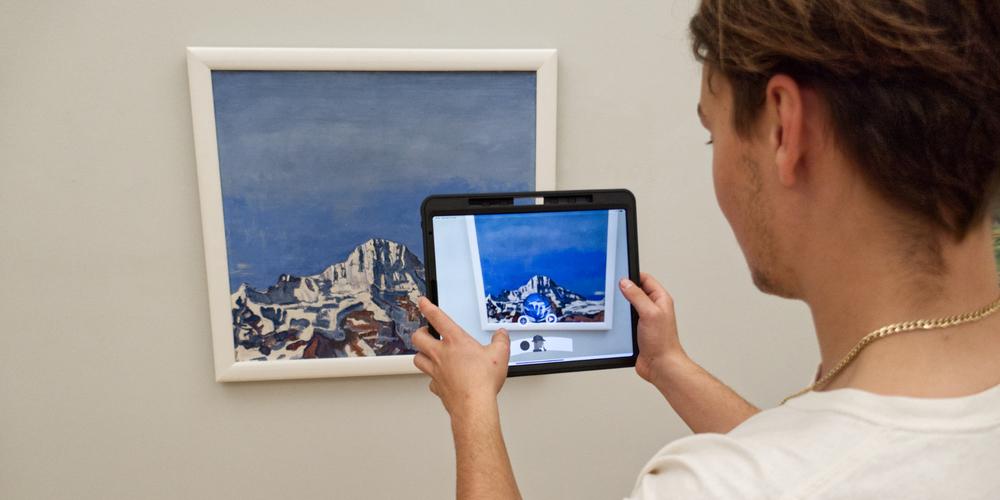 Mit der Sherlook-App in den Ausstellungen des Kunstmuseums St.Gallen