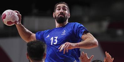 Frankreichs Starspieler Nikola Karabatic half mit, dass der zweifache Olympiasieger zum vierten Mal in Serie im Olympia-Final steht
