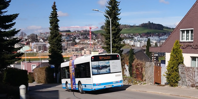 Busverkehr Ulrich-Rösch-Strasse, Wil