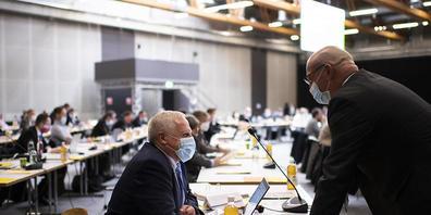 Der St. Galler Kantonsrat diskutierte am Mittwoch über die Schwerpunktplanung der Regierung. (Archivbild)