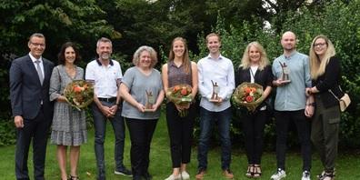 Die Gewinner des Eschenbach Award 2020 standen schon im Januar fest, nun konnte die Feier nachgeholt werden.