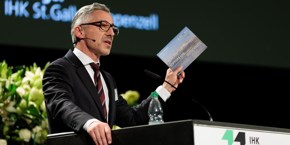 IHK-Direktor Markus Bänziger