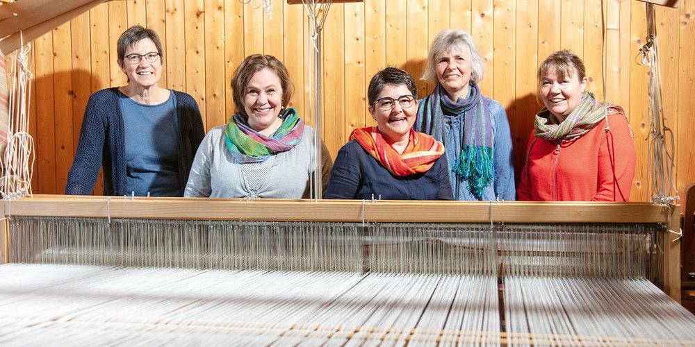 Der Vorstand der Landfrauen Zizers.