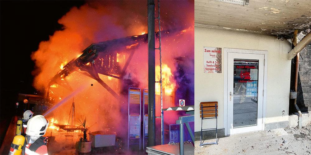 Der Brand zerstörte die Existenz von Brigitte Buchli.