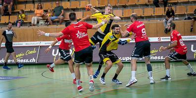 Der TSV St. Otmar gewinnt gegen Aufsteiger CS Chênois Genève mit 33:25 (19:12).