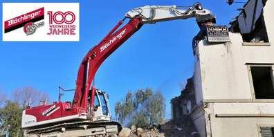 Die Blöchlinger AG verwertet als einzige Baustoffunternehmung in der Region 80% der angenommenen Bauabfälle zu Baustoffen wie z.B. NeoCret® dem Ökobeton.