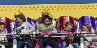 Am meisten Spass auf der  Kilbi haben die Kinder...