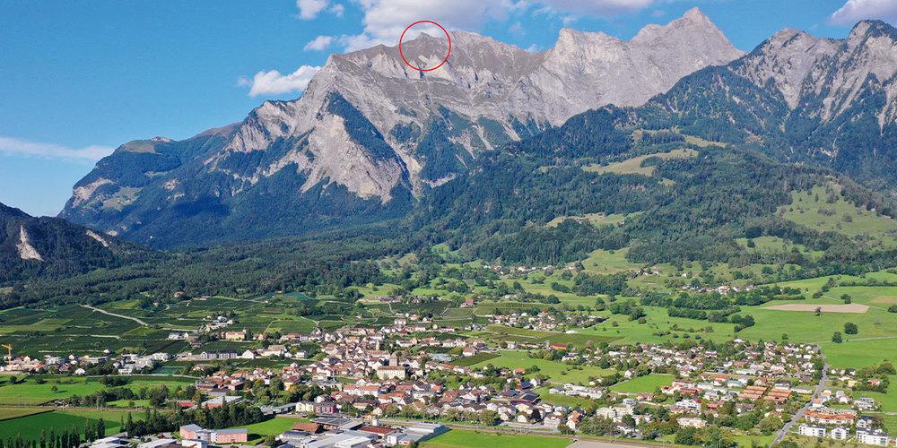 In diesem Gebiet mussten die beiden Wanderer gerettet werden.