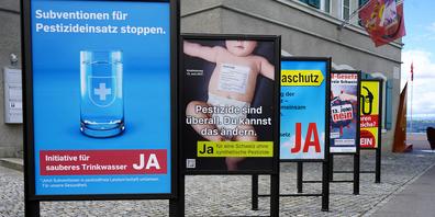Am 13. Juni wird in der Schweiz unter anderem über die beiden Agrarinitiativen abgestimmt.