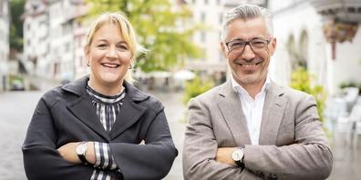 Eva De Salvatore-Spaar und Markus Bänziger wollen den digitalen Wandel in der Ostschweiz aktiv gestalten