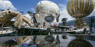 Nach einem Jahr Corona-Pause geht «Rigoletto» auf der Seebühne in seine zweite Saison.