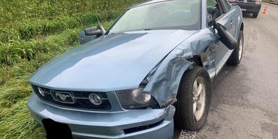 Am Personenwagen entstand Sachschaden.