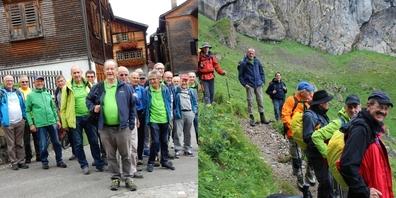Ihre Reise führte die Uzner Männerriegler ins Rheintal und auf den Alpstein.