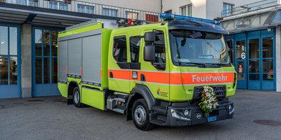 Das neue Rüstfahrzeug der Feuerwehr Seegräben