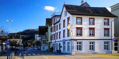 Das altehrwürdige Gasthaus «zur Alten Post» in Rheineck