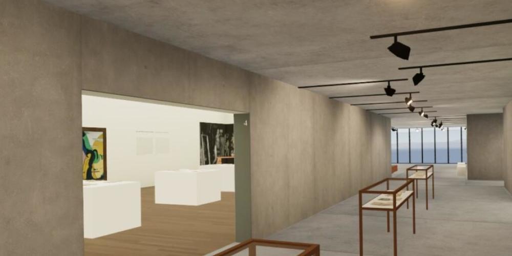 Besucherinnen und Besucher können bald von zuhause aus virtuell die letzte Ausstellung des Kirchner Museums besuchen.