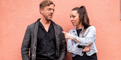 Peter Olibet und Jenny Heeb, das Co-Präsidium der Stadtpartei.