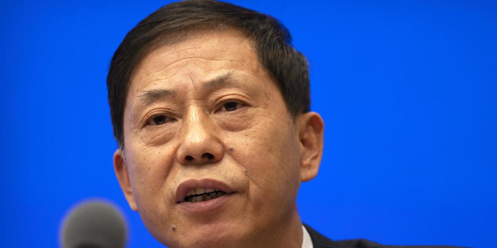 """Yuan Zhiming, Direktor des Wuhan National Biosafety Laboratory, betont an einer Medienkonferenz vom Donnerstag noch einmal, das Coronavirus sei nicht aus einem Labor in Wuhan entwichen. China wehrt sich heftig dagegen, dass die WHO die """"Laborleck-..."""