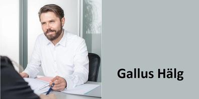 Gallus Hälg, Präsident der Vorberatenden Kommission zur Finanzhilfe für SanaFürstenland AG.