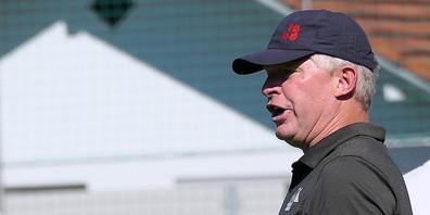 Montlingens Trainer Erik Regtop war in Rage wegen vermeintlicher Fehlentscheidungen des Schiedsrichters