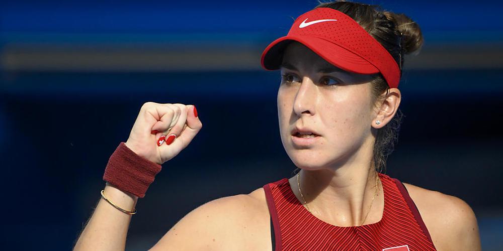 Starker Auftritt: Belinda Bencic steht in Tokio im Olympiafinal