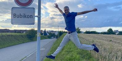 Thomas Aerni aus Bubikon macht Menschen wieder fit.