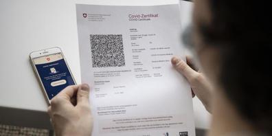 Das Covid-Zertifikat gibt es nur für geimpfte, genesene oder getestete Personen.