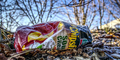 Abfälle in der Natur liegen zu lassen, ist ein No-Go. (Symbolbild)