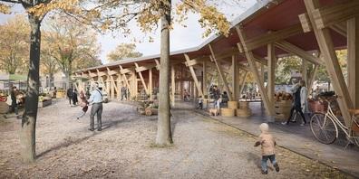 Flawil entscheidet am 7. März auch über die Neugestaltung des Marktplatzes.