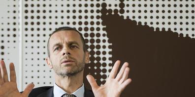UEFA-Präsident Aleksander Ceferin wehrt sich gegen die Einführung einer Superliga.
