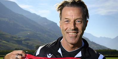 Paolo Tramezzani scheint sich auf seine driitte Anstellung beim FC Sion zu freuen