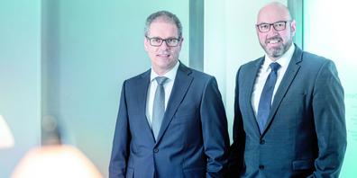 Patrick Schwyn (l.) und Beat Pfistner führen gemeinsam die Bovadis Partner Treuhand AG.