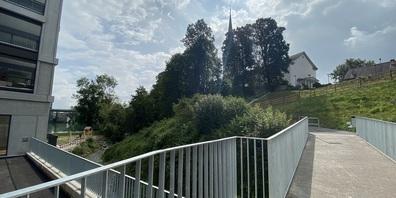 Der neue Mühleweg kommt bei der Bevölkerung gut an und wird bereits rege benutzt.