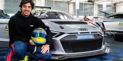 Lucas Mauron greift für Heide-Motorsport in der DTM Trophy an