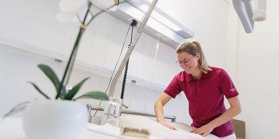 Larissa Thöny ist die neue Pflegeleiterin des Altersheims am Talbach in Klosters.