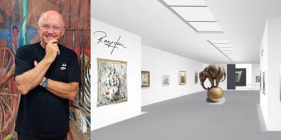 Rolf Knie geht 2021 neue, virtuelle Wege: «Ich komme zu Euch ins Wohnzimmer. Denn Kunst entspannt und inspiriert.»