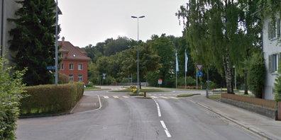 Der Breitenhof-Kreisel in Rüti ZH wird für einige Tage gesperrt.