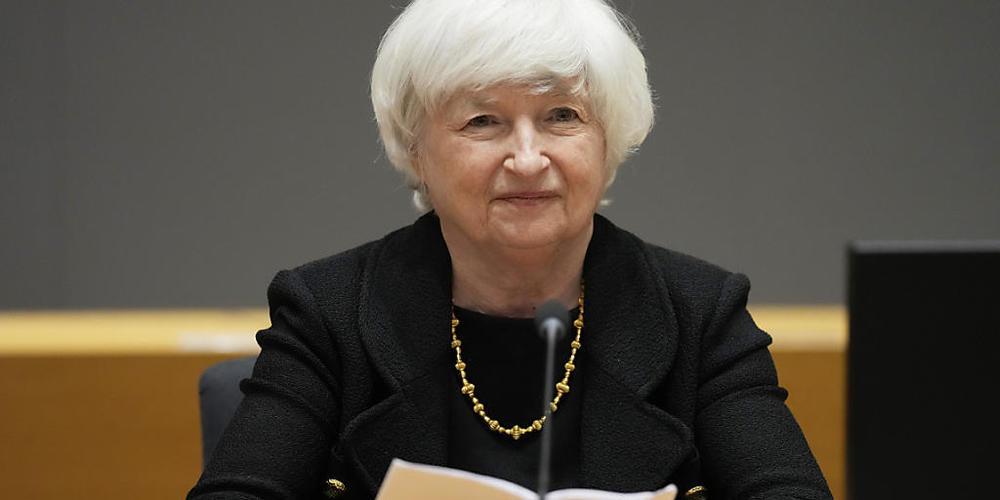 Die amerikanische Finanzministerin Janet Yellen warnt nachdrücklich vor einer Finanzkrise, sollte die Schuldengrenze der USA nicht erhöht werden. (Archivbild)