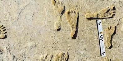 Am ausgetrockneten Otero-See im White-Sands-Nationalpark im Süden New Mexicos sind die ältesten Fussspuren des Kontinents entdeckt worden: Nordamerika war demnach schon vor 23'000 Jahren von Menschen besiedelt , 10'000 Jahre früher als bisher ange...