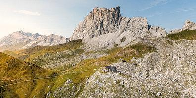 SAC-Carschinahütte.