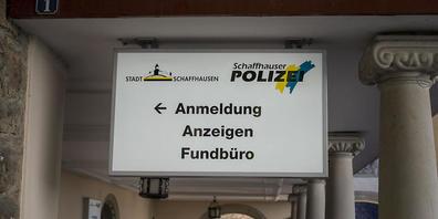 Die Schaffhauser Polizei fahndet nach einem Räuber, der erfolglos geblieben ist. (Symbolbild)