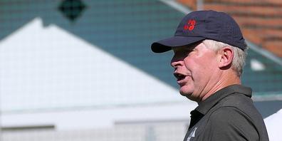 Montlingens Trainer Erik Regtop war über die Einstellung einíger seiner Spieler gar nicht erfreut