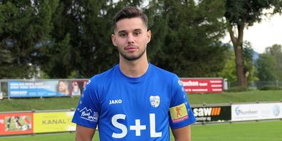 Ceyhun Tüccar erzielte beide Tore für den FC Widnau in Frauenfeld