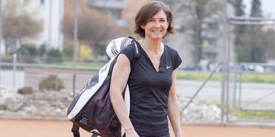 Das Tennisspielen ist eine grosse Leidenschaft von Maja Bodenmann, die seit 32Jahren in Diessenhofen lebt und das Vereinsleben dort sehr schätzt.