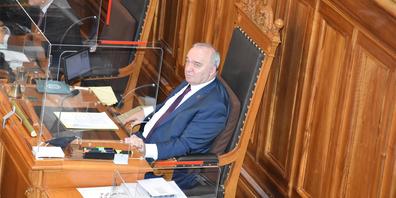 Der Bundesrat werde zum Schrittmacher mit niemandem an der Rolle, sagt Ständeratspräsident Alex Kuprecht.