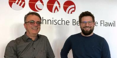 Urs Haaf (links) übergibt die TBF-Geschäftsführung an Luca Zillig-Klaus.