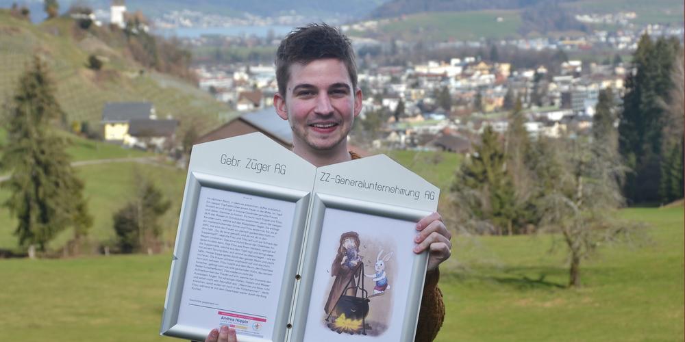 Silas Egli freut sich, dass er den Osterweg in Altendorf in diesem Jahr wieder durchführen darf.